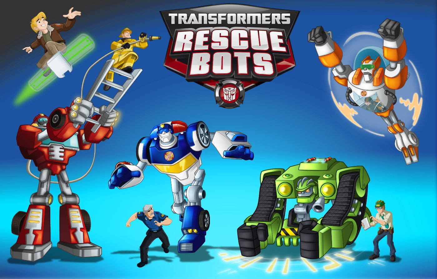 Rb Promo Poster. Transformers: Rescue Bots ...