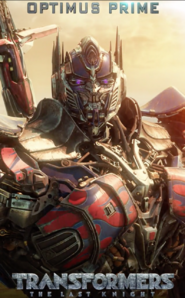 The Last Knight Optimus Prime Poster