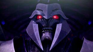 Legacy Megatron face