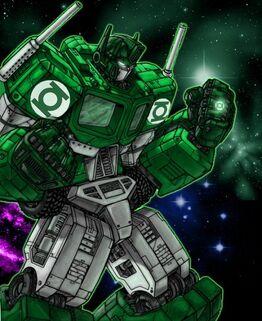 Optimus Prime Green Lantern
