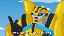 Bumblebee pystyy taas puhumaan