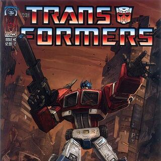 Another Optimus Prime cover