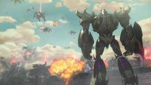 Armada screenshot Megatron in battle