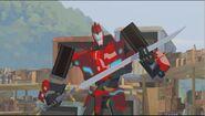 Sideswipe's new Decepticon Hunter