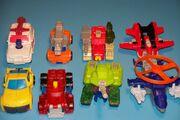 Armada Happy Meal Toys