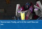 Rise of the Dark Spark 3DS Starscream Talking
