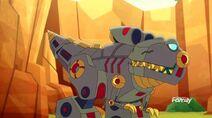 Dinobot teacher Grimlock