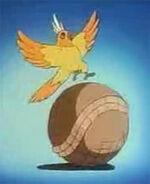 Parrot armadillo headon