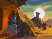 Transport to Oblivion Cliffjumper Shoots the Rock