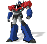 Optimus Prime Robots in Disguise