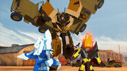 TF RiD Cover Me Glacius Swelter Optimus Prime 2