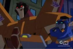 Animated Sunstorm and sentinel prime
