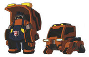 Animated Huffer