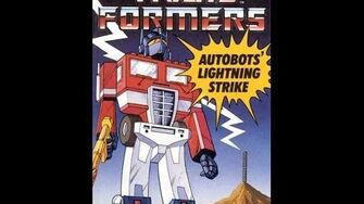 Autobots' Lightning Strike by John Grant - 1985 Transformers Audiobook