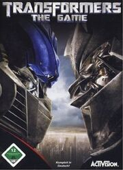 Transformers – The Game Cover