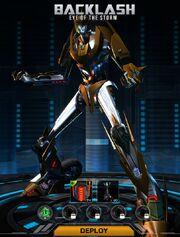 Transformers Universe Backlash Robot Mode