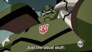 Bulkhead Said Yesterday's Day was Just the Usual Stuff