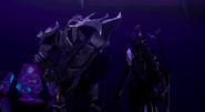 Megatron and Airachnid