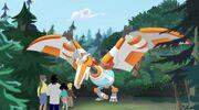 Rescue Bots Quarry's Quarry Dino Blades