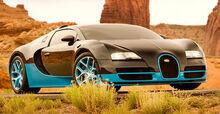 Drift als Bugatti Veyron Super Sport