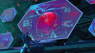 Out of the past Arcee sabotaging space bridge