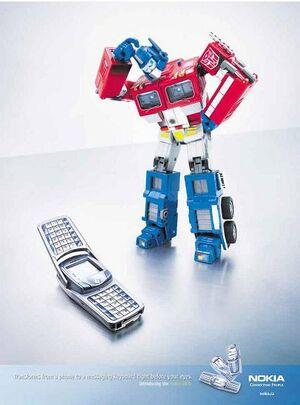 Optimus prime nokia 6820
