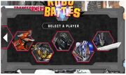 Transformers Robo-Battles Characters