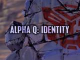 Alpha Q: Identity