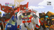 Optimus, Drift and Ratchet are back.
