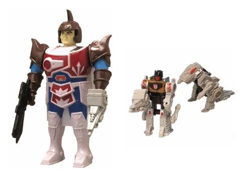 Hasbro Transformers G1 Pretenders Grimlock 1989