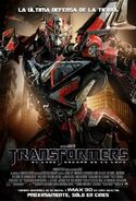 Transformers 3 French Poster