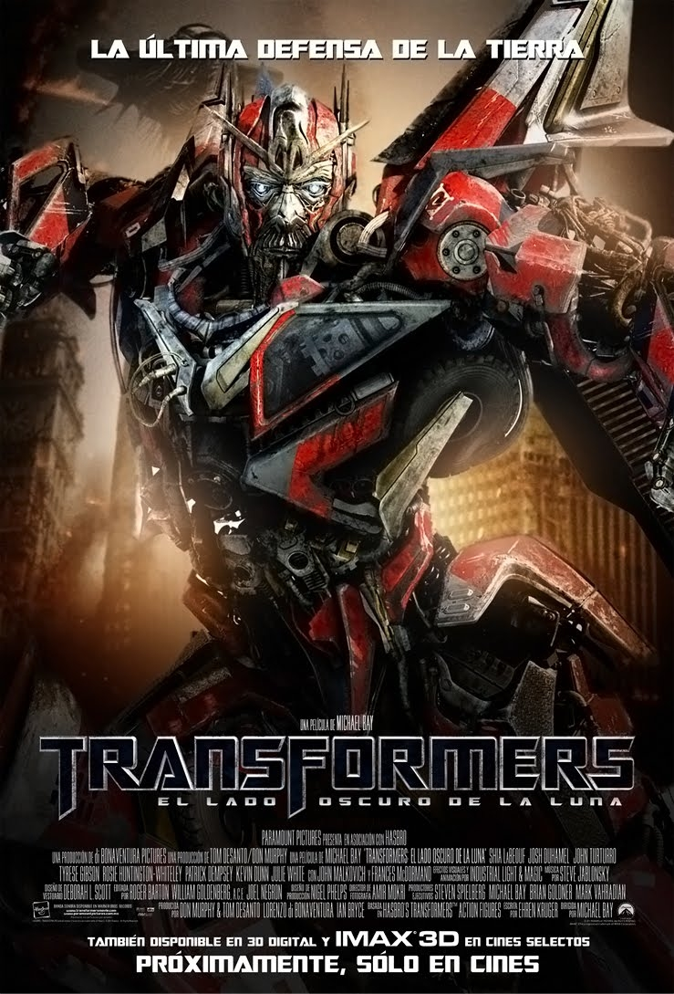 image - transformers 3 french poster | teletraan i: the
