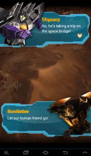 Transformers Rising Skywarp and Bumblebee Talking