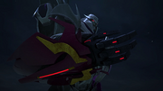 Megatron with new arm