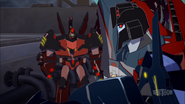 Starscream and Roughedge