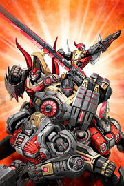 Transformers Prime Rage of the Dinobots