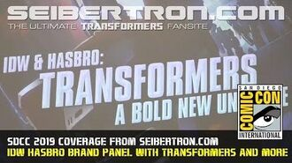 IDW Hasbro Brand Panel with Transformers, GI Joe, Gobots, ROM and more