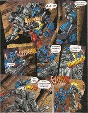 TF 2011-09 Optimus Prime Fights Starscream