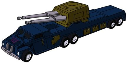 Transformers G1 Onslaught truck
