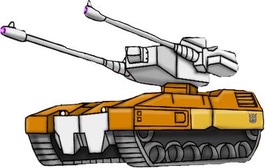Transformers Victory Killbison tank