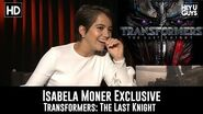 Isabela Moner on scones and Transformers The Last Knight