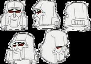 Megatron heads