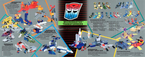 Transformers 1989 USA Catalog Micromasters