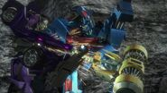 Chain of command screenshot Magnus beats Vehicon