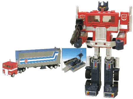 Transformers Generation 1 Autobot Commander Optimus Prime  G1 Action Figure