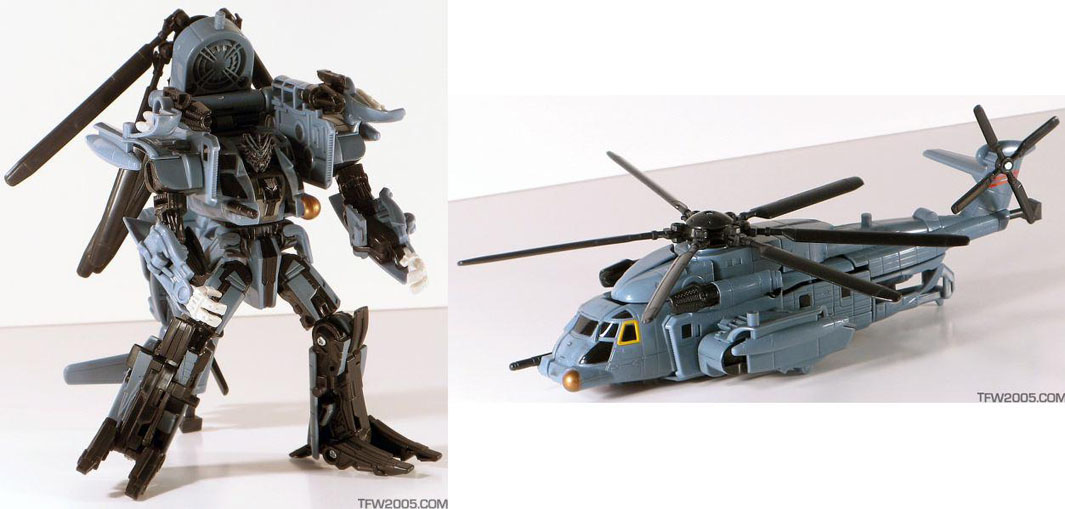 Transformers Movie Blackout Complete Legends Helicopter