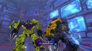 Transformers Devastation Legacy Devastator and Menasor Together