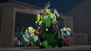 Bee Team catch Steeljaw's Pack