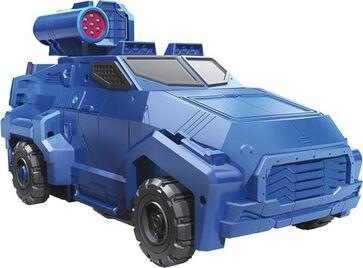 Transformers Cyberverse Soundwave car