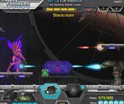 Battle for Energon Bulkhead VS Starscream